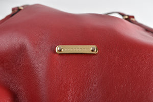Burberry Leather Panels Small Canterbury Tote