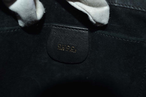 Gucci 1793 1836 Black Leather Shoulder Bag