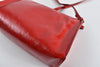 Yves Saint Laurent two way Shoulder Bag Red Patent Leather 284950.467891