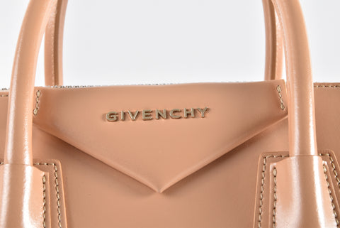 Givenchy Antigona Small Smooth Calfskin Bag in Beige 3C0153