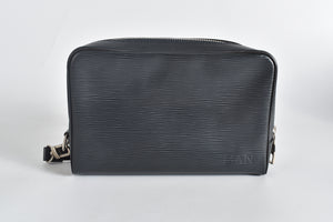 Louis Vuitton Neo Osh Wristlet Black Epi Leather
