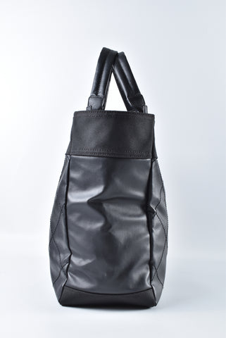 Chanel Biarritz Large Black Canvas Tote 13155449 - Glampot