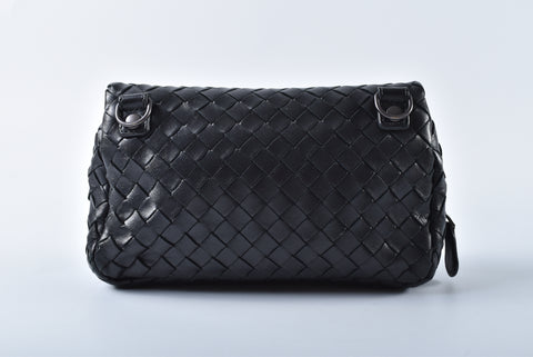 Bottega Veneta Intrecciato Nappa Messenger Mini Bag - Glampot