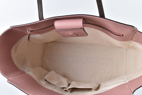 Gucci 354397 Large Swing Tote in Brown/Pink