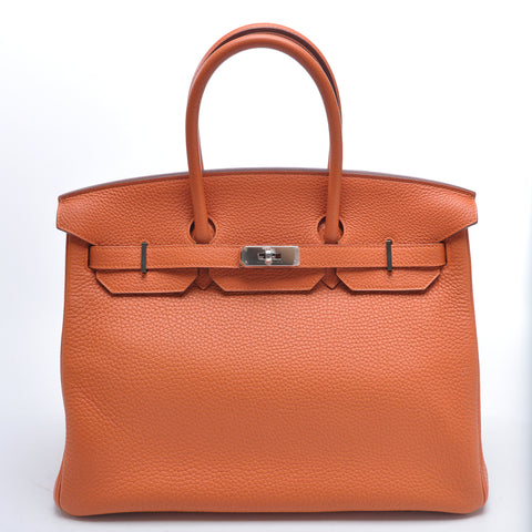 Birkin 35 Orange - Glampot