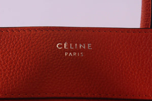 Céline Mini Luggage Bag Orange F VP 0173 F CU 0183 - Glampot