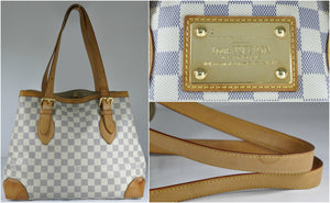 bc314eabe76c Louis Vuitton Hampstead MM Damier Azur – Glampot