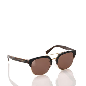 Dolce&Gabbana Square Tinted Sunglasses in Brown x Dark Brown