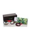 Dolce&Gabbana Round Mirror Sunglasses in Black