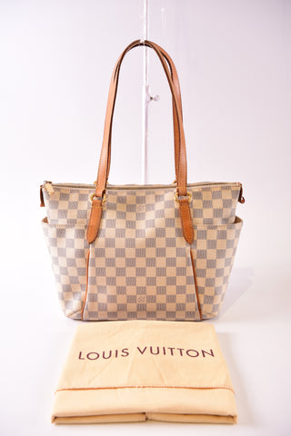 Louis Vuitton Totally PM Damier Azur. Date Code: AR2069