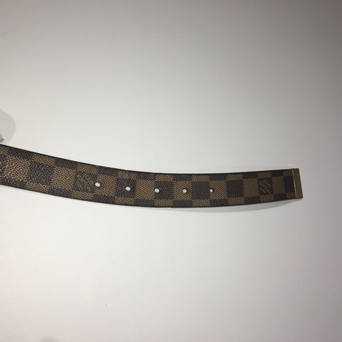 Louis Vuitton Damier Ebene Belt LW0020