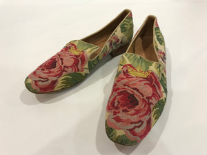 Church's Floral Flat Shoes - Size 40 - Glampot