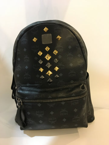 MCM Large Backpack MMK 3SEVE12 BK001