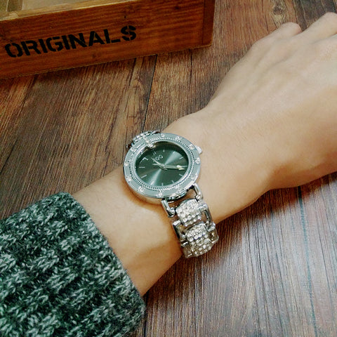 Dialmond SS Woman Watches Waterproof