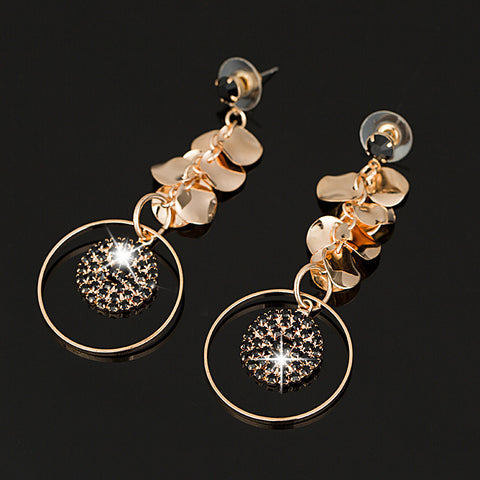 New Design Dangle Element Crystal Earrings Fashion Wedding For Women - pickNcarry