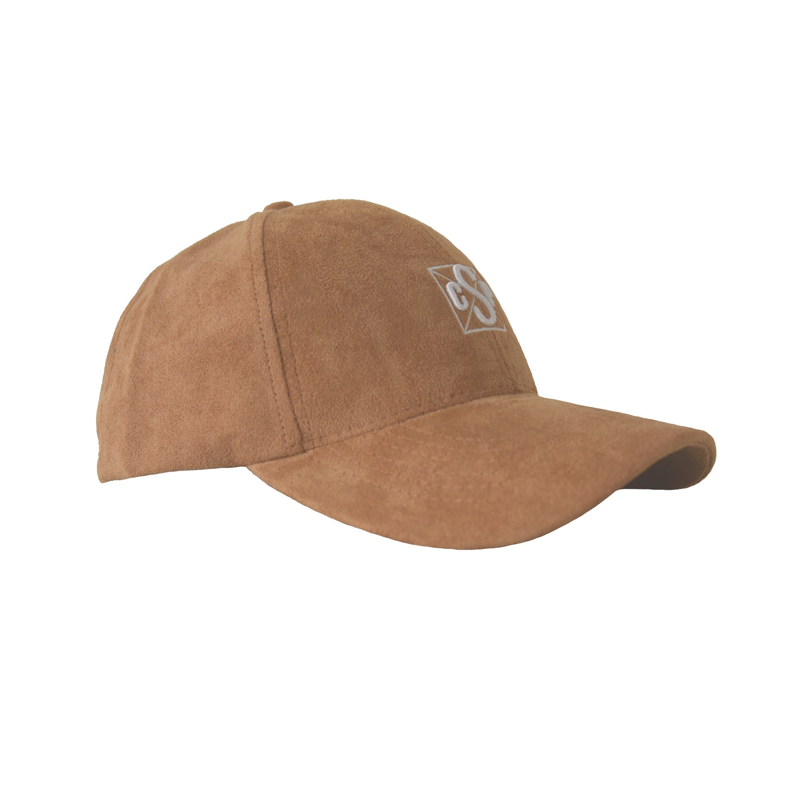 Baseball cap sand suede