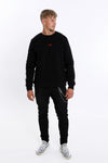 Cinar Santos Palma Stripe sweater - AOAC Sports Line- Limited Edition (Black)