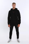 Cinar Santos Palma Stripe Hoodie - AOAC Sports Line - Limited Edition (Black)