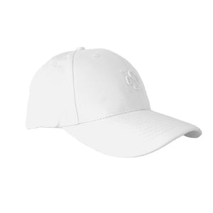 Baseball cap white canvas