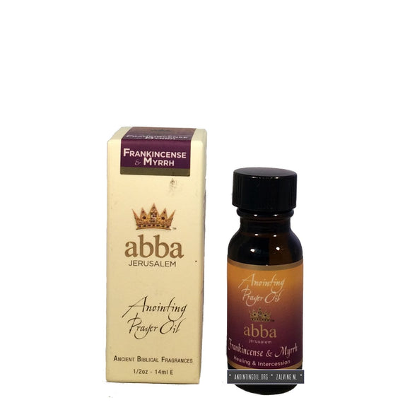 1/2 oz Frankincense & Myrrh Anointing Oil