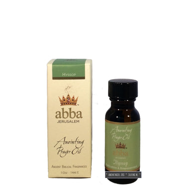1/2 oz Hyssop (Holy Fire) Anointing Oil
