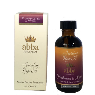 2 oz Frankincense & Myrrh Anointing Oil