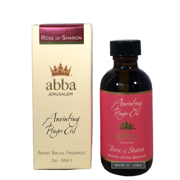 2 oz Rose of Sharon Anointing Oil