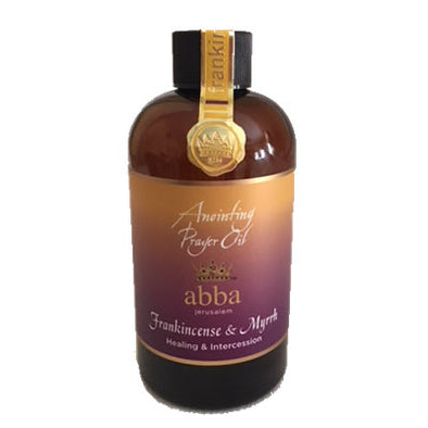 8 oz Frankincense & Myrrh Anointing Oil