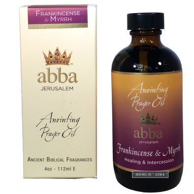 4 oz Frankincense & Myrrh Anointing Oil