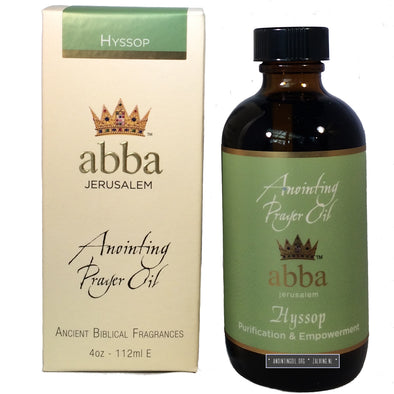 4 oz Hyssop (Holy Fire) Anointing Oil