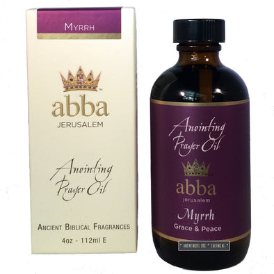 4 oz Myrrh Anointing Oil