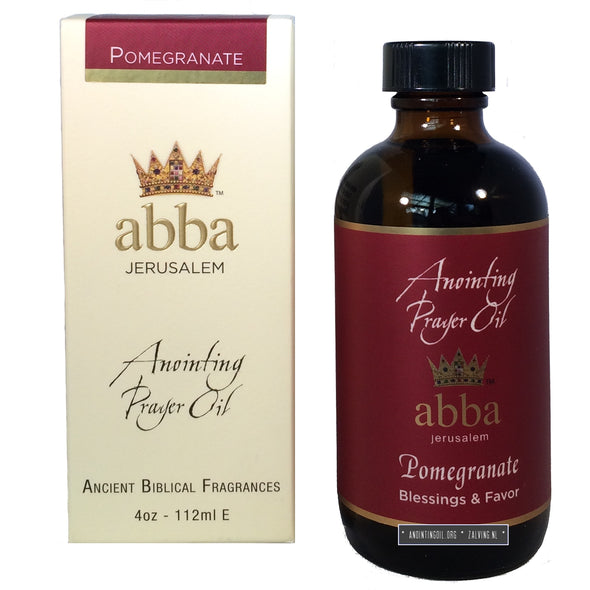 4 oz Pomegranate Anointing Oil