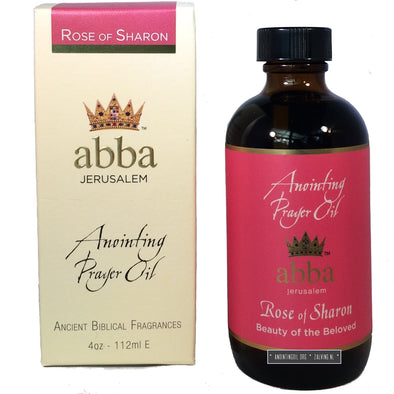 4 oz Rose of Sharon Anointing Oil