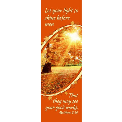 Let Light Shine - Indoor Banner