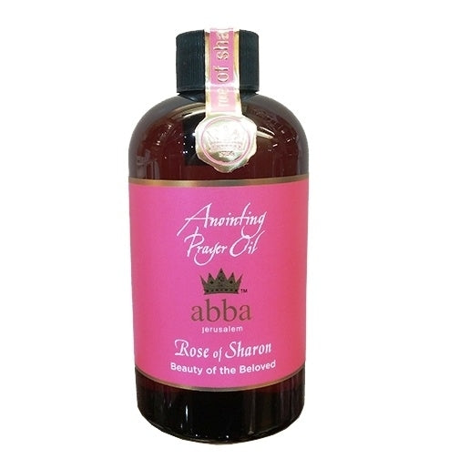 8 oz Rose of Sharon Anointing Oil
