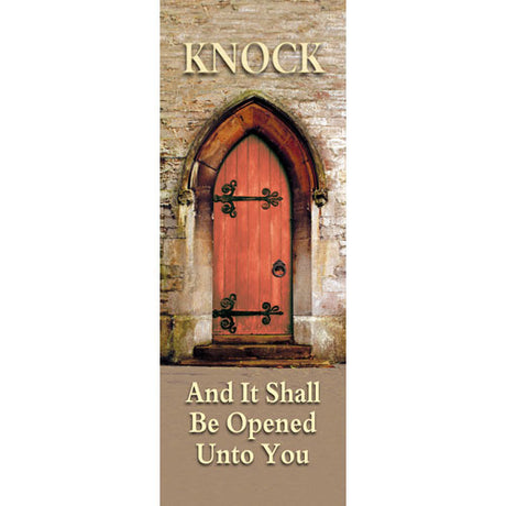 Knock - Indoor Banner