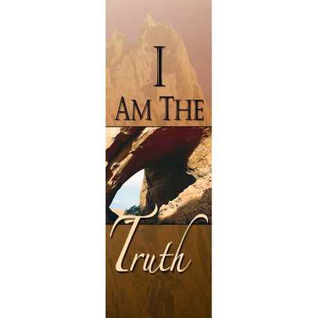 I Am the Truth - Indoor Banner