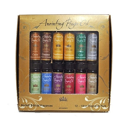 Anointing Oil-Variety Pack-1/4oz (Pk/12)