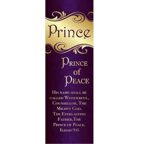 Prince of Peace - Indoor Banner