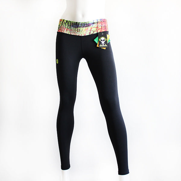 Black Snake Leggings