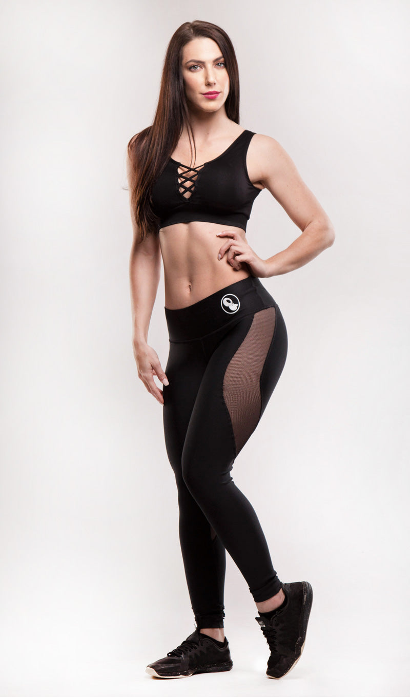 Black Universe Leggings