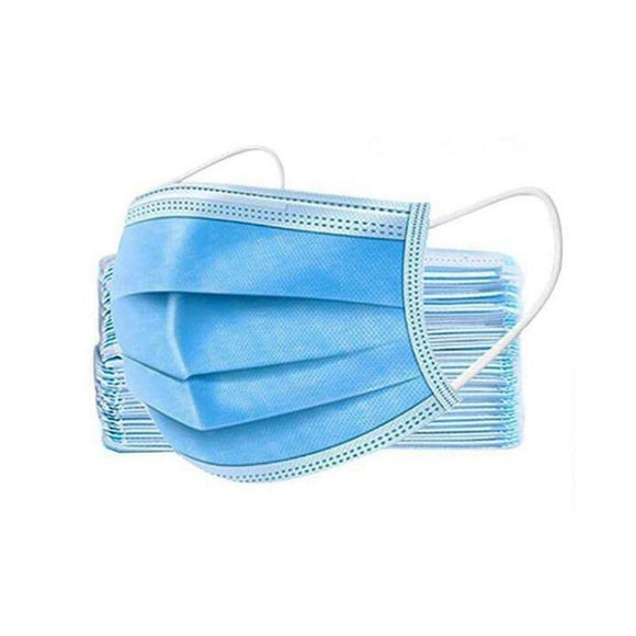Disposable Facial Masks - 3 Layers - Covid 19