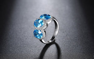 Oberfy USA Austrian Crystal Ring