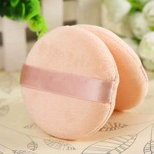 Cotton Sponge Powder Puff  (5 pieces)