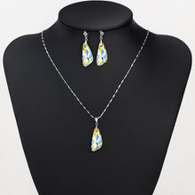 Neoglory MADE WITH SWAROVSKI ELEMENTS Necklace & Earrings