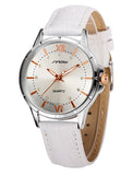 Japanese SINOBI leather strap Diamond quartz - Women-Watch