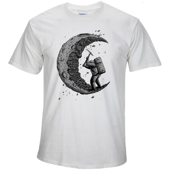 T-Shirt - Dig the moon