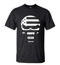 Skull And US Flag - Free Shipping