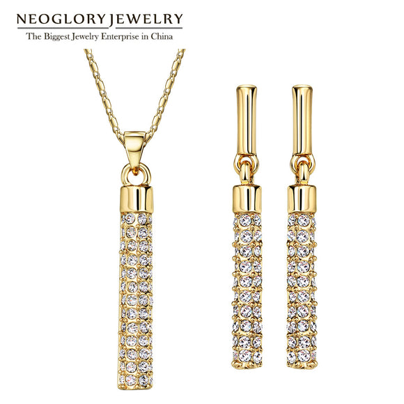 Neoglory Jewelry Sets MADE WITH SWAROVSKI ELEMENTS