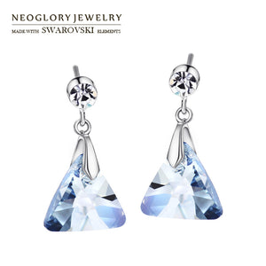 Neoglory Austria Crystal & Czech Rhinestone Earrings